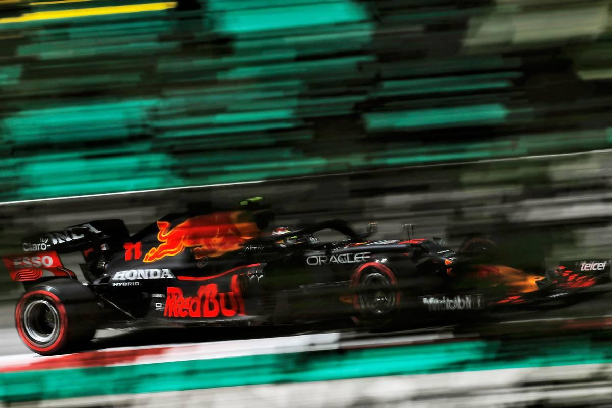 Sergio Perez (MEX) Red Bull Racing RB16B. 30.04.2021. Formula 1 World Championship, Rd 3, Portuguese Grand Prix, Portimao