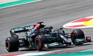 Hamilton quickest from Verstappen in second practice