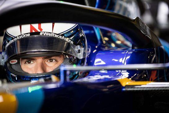 Nicholas Latifi (CDN) Williams Racing FW43B. 30.04.2021. Formula 1 World Championship, Rd 3, Portuguese Grand Prix, Portimao, Portugal, Practice Day. - www.xpbimages.com, EMail: requests@xpbimages.com © Copyright: Bearne / XPB Images