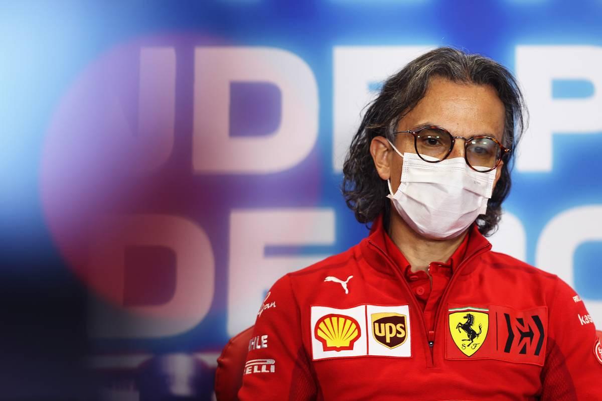 Laurent Mekies (FRA) Ferrari Sporting Director in the FIA Press Conference. 30.04.2021. Formula 1 World Championship, Rd 3, Portuguese Grand Prix, Portimao