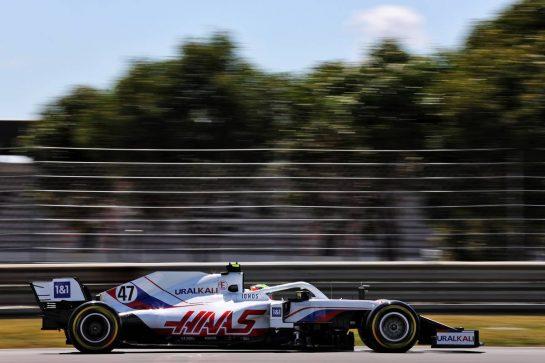 Mick Schumacher (GER) Haas VF-21. 30.04.2021. Formula 1 World Championship, Rd 3, Portuguese Grand Prix, Portimao, Portugal, Practice Day. - www.xpbimages.com, EMail: requests@xpbimages.com © Copyright: Batchelor / XPB Images