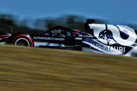 Yuki Tsunoda (JPN) AlphaTauri AT02. 30.04.2021. Formula 1 World Championship, Rd 3, Portuguese Grand Prix, Portimao, Portugal, Practice Day.  - www.xpbimages.com, EMail: requests@xpbimages.com © Copyright: Staley / XPB Images