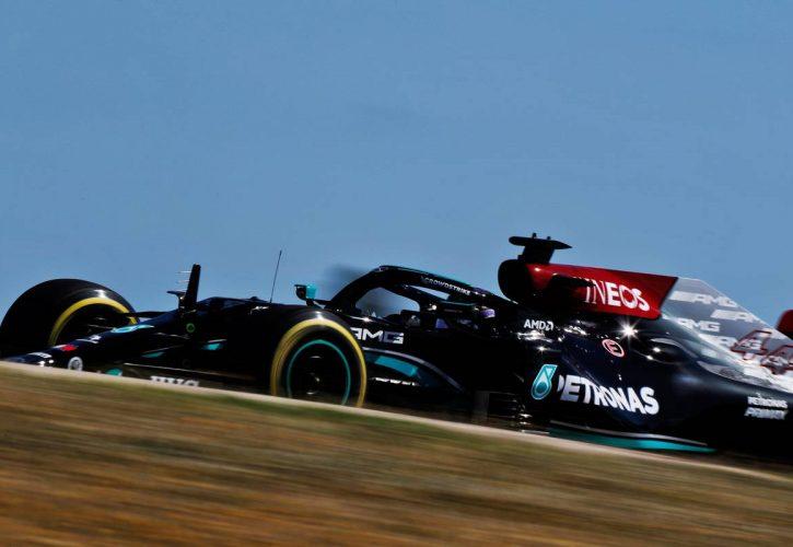Lewis Hamilton (GBR) Mercedes AMG F1 W12. 30.04.2021. Formula 1 World Championship, Rd 3, Portuguese Grand Prix, Portimao