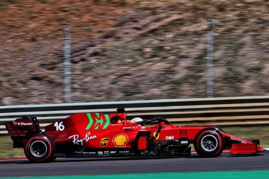 Charles Leclerc (MON) Ferrari SF-21.