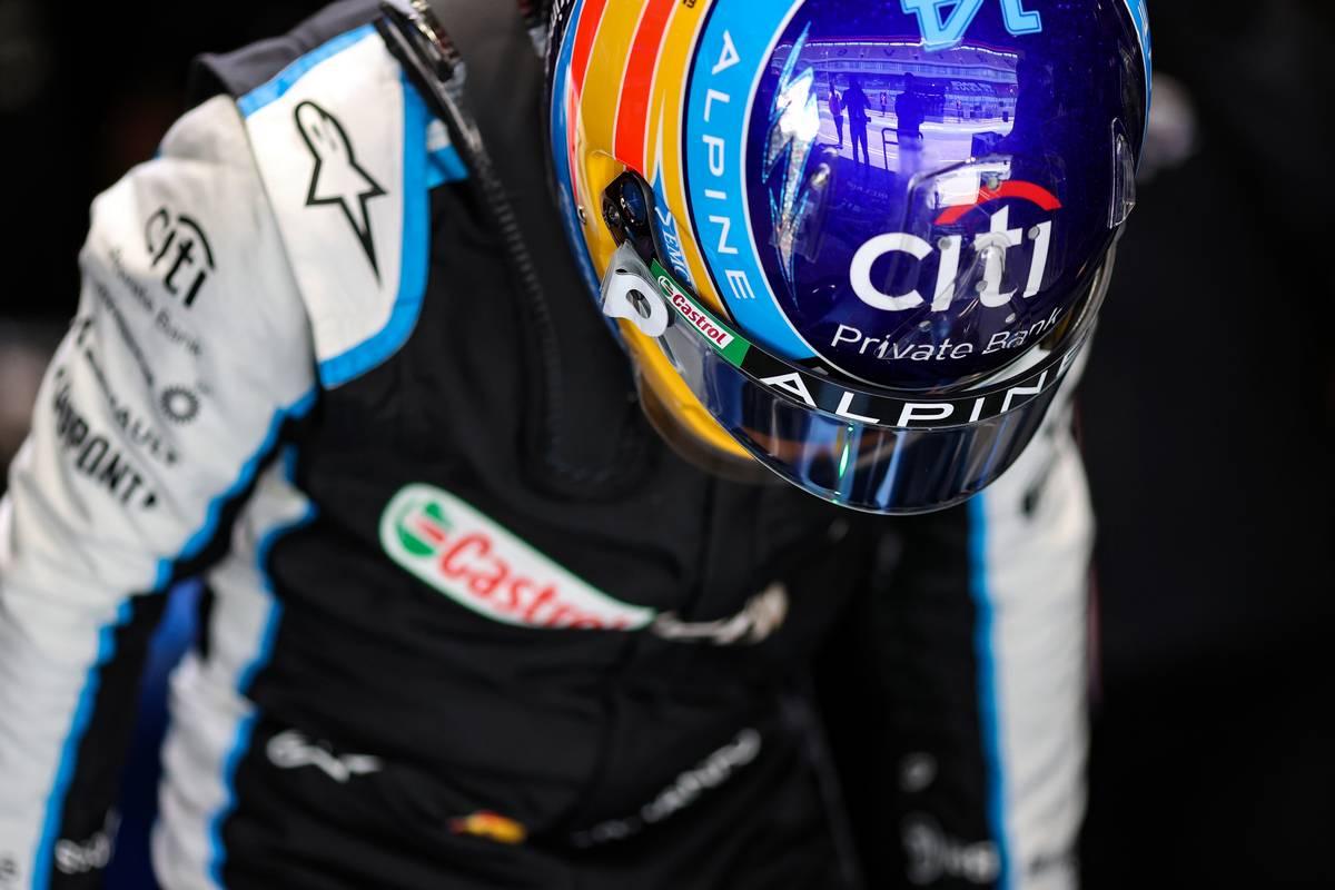 Fernando Alonso (ESP) Alpine F1 Team A521. 30.04.2021. Formula 1 World Championship, Rd 3, Portuguese Grand Prix, Portimao