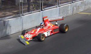 Ferrari F1 return ends in the wall for Alesi!