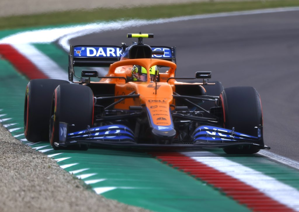 Norris 'annoyed' after 'messing up' sensational qualifying run