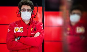 'Unhappy' Binotto proves Ferrari going 'in the right direction'