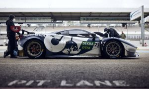 Albon hits the DTM track with Ferrari 488 GT3