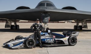Conor Daly's new USAF flying IndyCar colors