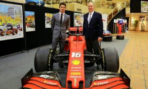 Leclerc's Ferrari SF90 finds the perfect home