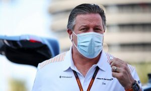Brown says contentious Mercedes comment was 'opinion not prediction'