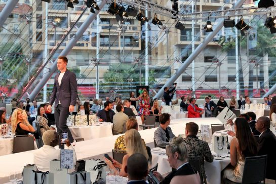 Stoffel Vandoorne (BEL) Mercedes AMG F1 Reserve Driver at the Amber Lounge Fashion Show. 21.05.2021. Formula 1 World Championship, Rd 5, Monaco Grand Prix, Monte Carlo, Monaco, Friday. - www.xpbimages.com, EMail: requests@xpbimages.com © Copyright: Batchelor / XPB Images