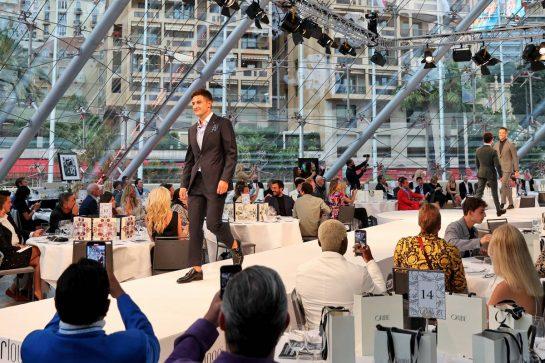 Mitch Evans (NZL) Formula E Driver at the Amber Lounge Fashion Show. 21.05.2021. Formula 1 World Championship, Rd 5, Monaco Grand Prix, Monte Carlo, Monaco, Friday. - www.xpbimages.com, EMail: requests@xpbimages.com © Copyright: Batchelor / XPB Images