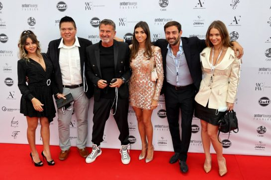Enrico Zanarini (ITA) Driver Manager and guests at the Amber Lounge Fashion Show. 21.05.2021. Formula 1 World Championship, Rd 5, Monaco Grand Prix, Monte Carlo, Monaco, Friday. - www.xpbimages.com, EMail: requests@xpbimages.com © Copyright: Batchelor / XPB Images