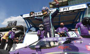 Grosjean powers to maiden IndyCar pole at the Brickyard!