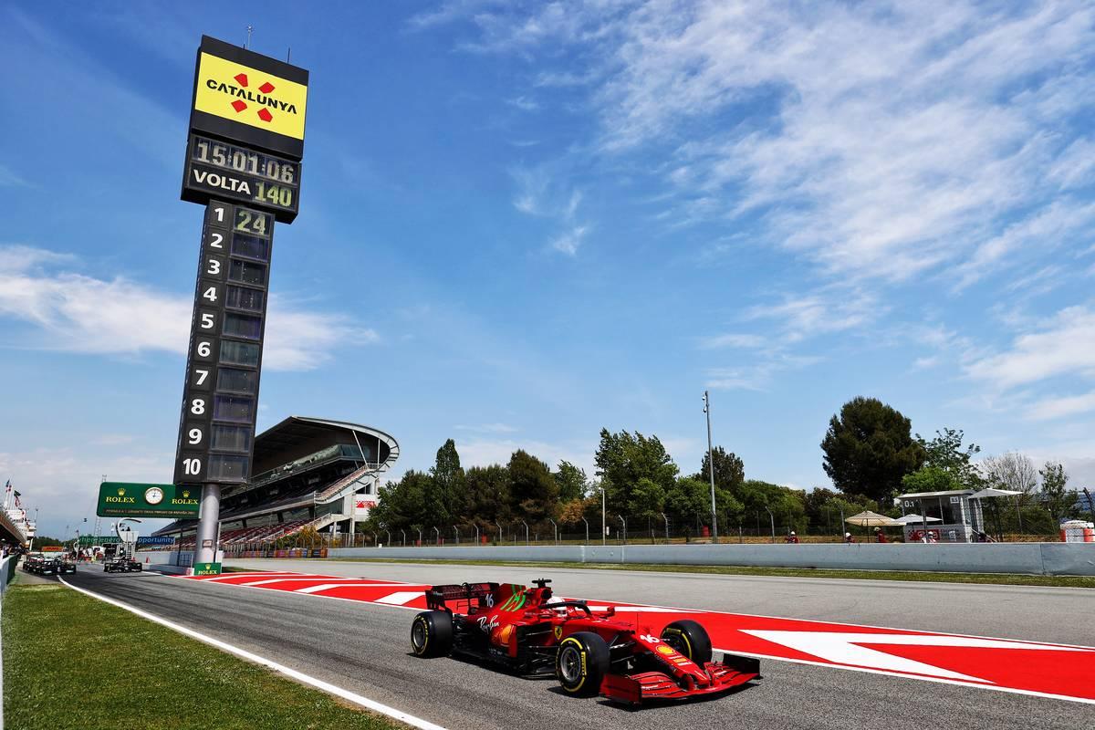 Charles Leclerc (MON) Ferrari SF-21. 07.05.2021 Formula 1 World Championship, Rd 4, Spanish Grand Prix, Barcelona, Spain