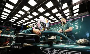 Vettel 'a lot more at home' following Aston upgrade