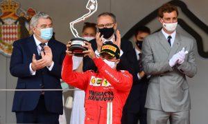 Alonso irked by Sainz podium glory in Monaco