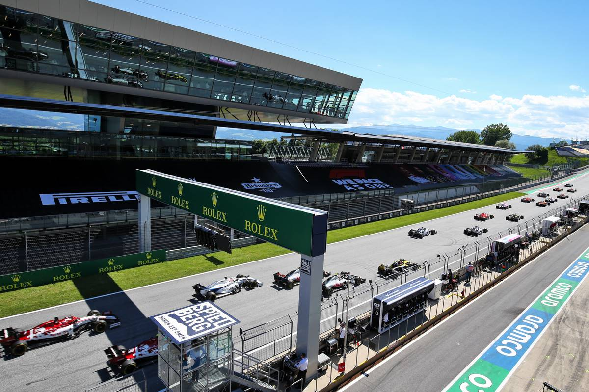 Austria to host double-header as F1 scraps Turkish GP