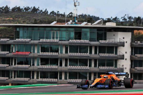 Daniel Ricciardo (AUS) McLaren MCL35M. 01.05.2021. Formula 1 World Championship, Rd 3, Portuguese Grand Prix, Portimao, Portugal, Qualifying Day. - www.xpbimages.com, EMail: requests@xpbimages.com © Copyright: Batchelor / XPB Images