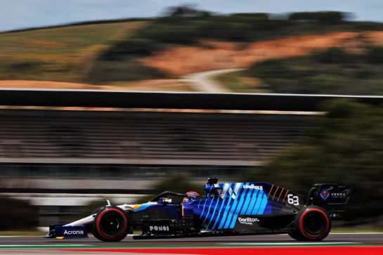 George Russell (GBR) Williams Racing FW43B. 01.05.2021. Formula 1 World Championship, Rd 3, Portuguese Grand Prix, Portimao, Portugal, Qualifying Day. - www.xpbimages.com, EMail: requests@xpbimages.com © Copyright: Batchelor / XPB Images