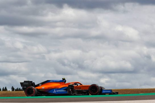 Lando Norris (GBR) McLaren MCL35M. 01.05.2021. Formula 1 World Championship, Rd 3, Portuguese Grand Prix, Portimao, Portugal, Qualifying Day.  - www.xpbimages.com, EMail: requests@xpbimages.com © Copyright: Staley / XPB Images