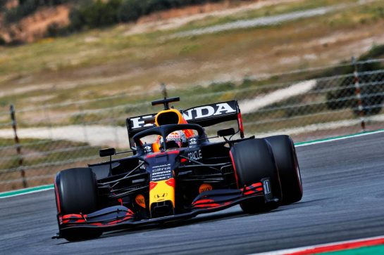 Max Verstappen (NLD) Red Bull Racing RB16B. 01.05.2021. Formula 1 World Championship, Rd 3, Portuguese Grand Prix, Portimao, Portugal, Qualifying Day.  - www.xpbimages.com, EMail: requests@xpbimages.com © Copyright: Staley / XPB Images