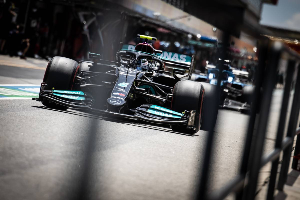 Valtteri Bottas (FIN) Mercedes AMG F1 W12. 01.05.2021. Formula 1 World Championship, Rd 3, Portuguese Grand Prix, Portimao