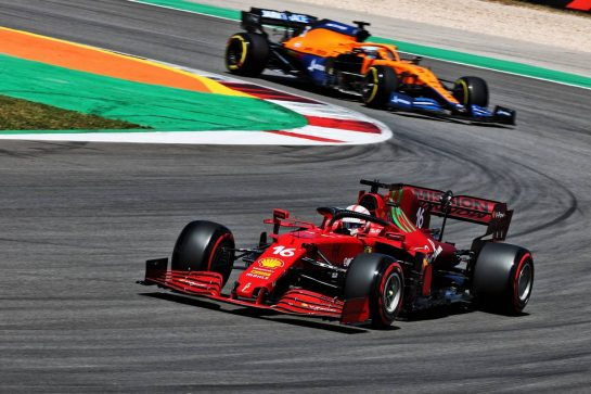 Charles Leclerc (MON) Ferrari SF-21. 01.05.2021. Formula 1 World Championship, Rd 3, Portuguese Grand Prix, Portimao, Portugal, Qualifying Day. - www.xpbimages.com, EMail: requests@xpbimages.com © Copyright: Batchelor / XPB Images