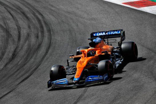 Daniel Ricciardo (AUS) McLaren MCL35M. 01.05.2021. Formula 1 World Championship, Rd 3, Portuguese Grand Prix, Portimao, Portugal, Qualifying Day.  - www.xpbimages.com, EMail: requests@xpbimages.com © Copyright: Staley / XPB Images