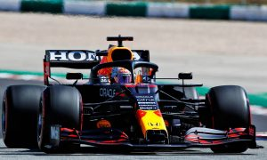 Verstappen frustrated after being blown off course