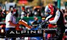 Esteban Ocon (FRA) Alpine F1 Team A521 in qualifying parc ferme. 01.05.2021. Formula 1 World Championship, Rd 3, Portuguese Grand Prix, Portimao
