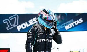 Bottas delighted with Portugal pole: 'It's been a while!'