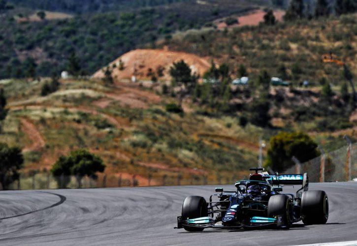 Lewis Hamilton (GBR) Mercedes AMG F1 W12. 02.05.2021. Formula 1 World Championship, Rd 3, Portuguese Grand Prix, Portimao