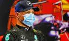 Valtteri Bottas (FIN) Mercedes AMG F1 in the post race FIA Press Conference. 02.05.2021. Formula 1 World Championship, Rd 3, Portuguese Grand Prix, Portimao