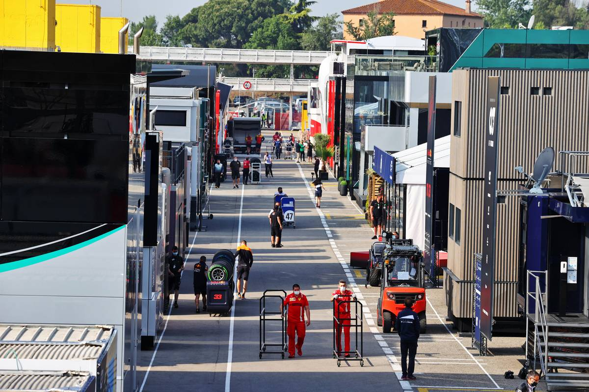 Spanish GP: Thursday's build up in pictures