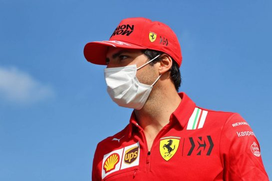 Carlos Sainz Jr (ESP) Ferrari. 06.05.2021. Formula 1 World Championship, Rd 4, Spanish Grand Prix, Barcelona, Spain, Preparation Day. - www.xpbimages.com, EMail: requests@xpbimages.com © Copyright: Moy / XPB Images