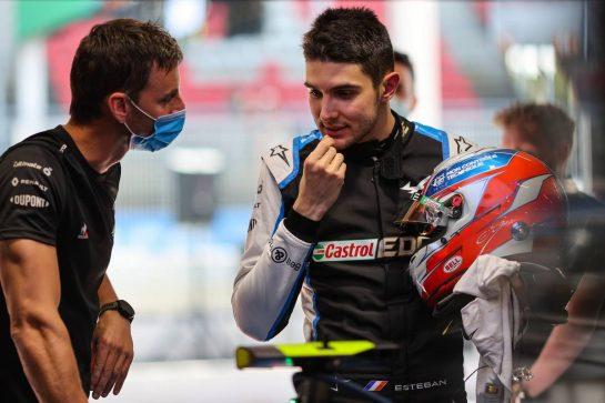 Esteban Ocon (FRA) Alpine F1 Team. 06.05.2021. Formula 1 World Championship, Rd 4, Spanish Grand Prix, Barcelona, Spain, Preparation Day. - www.xpbimages.com, EMail: requests@xpbimages.com © Copyright: Charniaux / XPB Images