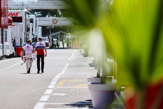 Mick Schumacher (GER) Haas F1 Team. 06.05.2021. Formula 1 World Championship, Rd 4, Spanish Grand Prix, Barcelona, Spain, Preparation Day. - www.xpbimages.com, EMail: requests@xpbimages.com © Copyright: Charniaux / XPB Images