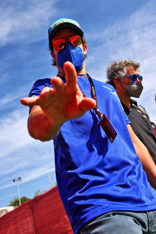 Fernando Alonso (ESP) Alpine F1 Team. 07.05.2021 Formula 1 World Championship, Rd 4, Spanish Grand Prix, Barcelona, Spain, Practice Day. - www.xpbimages.com, EMail: requests@xpbimages.com © Copyright: Moy / XPB Images