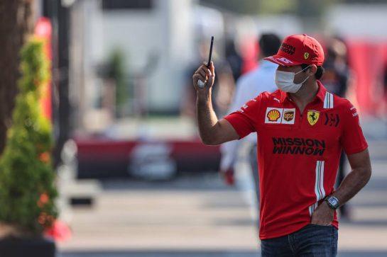Carlos Sainz Jr (ESP) Ferrari. 07.05.2021 Formula 1 World Championship, Rd 4, Spanish Grand Prix, Barcelona, Spain, Practice Day. - www.xpbimages.com, EMail: requests@xpbimages.com © Copyright: Charniaux / XPB Images