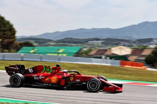 Charles Leclerc (MON) Ferrari SF-21. 07.05.2021 Formula 1 World Championship, Rd 4, Spanish Grand Prix, Barcelona, Spain, Practice Day. - www.xpbimages.com, EMail: requests@xpbimages.com © Copyright: Batchelor / XPB Images