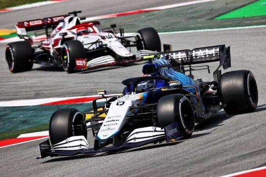 Nicholas Latifi (CDN) Williams Racing FW43B. 07.05.2021 Formula 1 World Championship, Rd 4, Spanish Grand Prix, Barcelona, Spain, Practice Day. - www.xpbimages.com, EMail: requests@xpbimages.com © Copyright: Moy / XPB Images