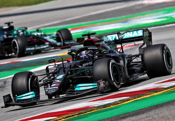 Lewis Hamilton (GBR) Mercedes AMG F1 W12. 07.05.2021 Formula 1 World Championship, Rd 4, Spanish Grand Prix, Barcelona, Spain