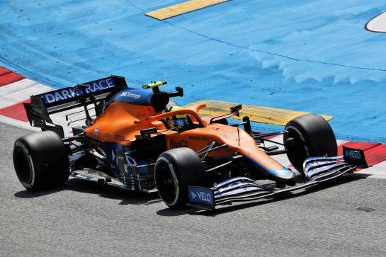 Lando Norris (GBR) McLaren MCL35M. 07.05.2021 Formula 1 World Championship, Rd 4, Spanish Grand Prix, Barcelona, Spain, Practice Day. - www.xpbimages.com, EMail: requests@xpbimages.com © Copyright: Batchelor / XPB Images