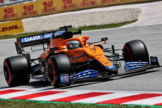 Daniel Ricciardo (AUS) McLaren MCL35M. 07.05.2021 Formula 1 World Championship, Rd 4, Spanish Grand Prix, Barcelona, Spain, Practice Day. - www.xpbimages.com, EMail: requests@xpbimages.com © Copyright: Batchelor / XPB Images