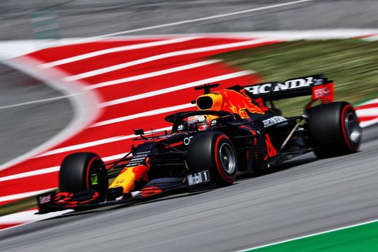 Max Verstappen (NLD) Red Bull Racing RB16B. 07.05.2021 Formula 1 World Championship, Rd 4, Spanish Grand Prix, Barcelona, Spain, Practice Day. - www.xpbimages.com, EMail: requests@xpbimages.com © Copyright: Moy / XPB Images