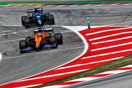 Daniel Ricciardo (AUS) McLaren MCL35M. 07.05.2021 Formula 1 World Championship, Rd 4, Spanish Grand Prix, Barcelona, Spain, Practice Day. - www.xpbimages.com, EMail: requests@xpbimages.com © Copyright: Moy / XPB Images