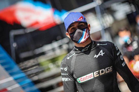 Esteban Ocon (FRA) Alpine F1 Team. 07.05.2021 Formula 1 World Championship, Rd 4, Spanish Grand Prix, Barcelona, Spain, Practice Day. - www.xpbimages.com, EMail: requests@xpbimages.com © Copyright: Charniaux / XPB Images